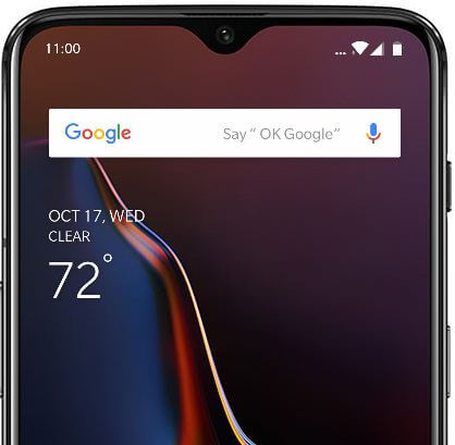 How to customize OnePlus 6T home screen layout
