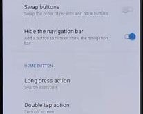 How to customize navigation bar on OnePlus 6T