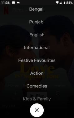 Download movies from Netflix on Android phone