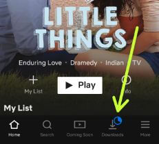 Download offline content from Netflix on Android