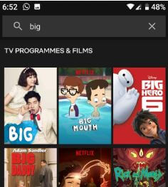 How to find TV shows and movies on Netflix Android or iOS