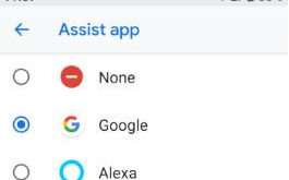 How to set Amazon Alexa as voice assistant on Android
