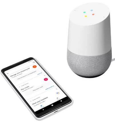 How to set up Google Home on android device