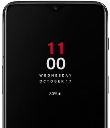 How to turn on show lockdown option in OnePlus 6T