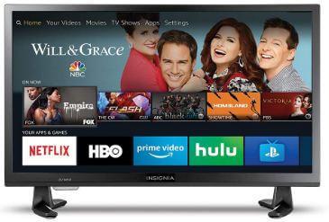 Insignia HD smart LED Amazon Fire TV 4K