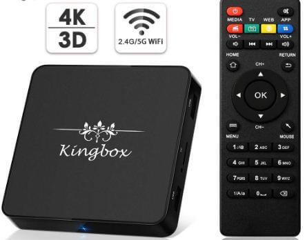 Kingbox model X android TV box 2019