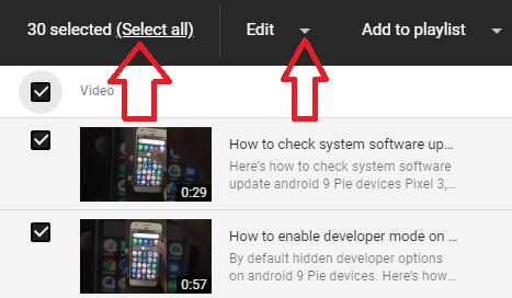 How to change category on YouTube on desktop PC