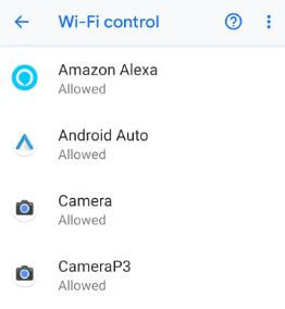 Change mobile hotspot password on android 9 Pie