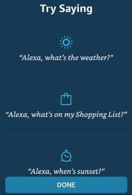 How to change Alexa wake word on Android device