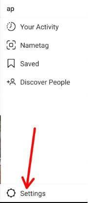 Instagram settings for see time spent on app