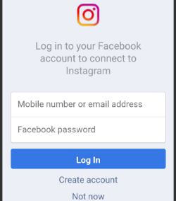 Share Instagram photos and videos on facebook android