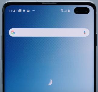 How to enable one handed operation in Galaxy S10 plus