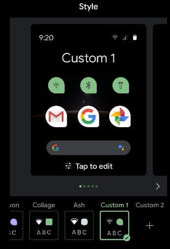How to Change Shape Icon on Android 10