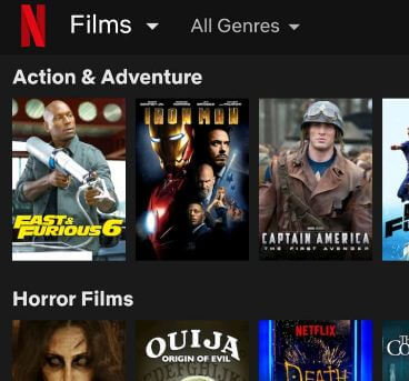 Download your favorite Netflix shows and movies