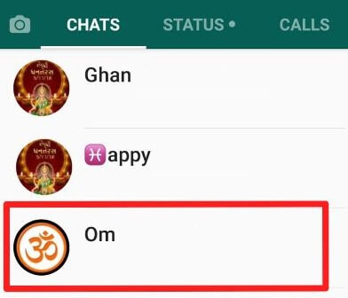 Hide WhatsApp media file from your phone's gallery