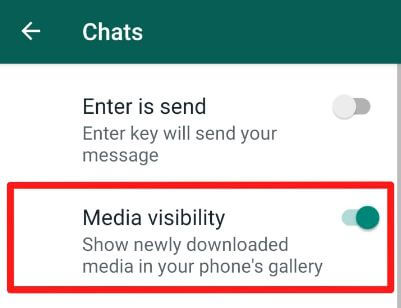 Hide downloaded WhatsApp images and videos from gallery in Android