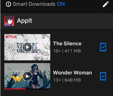 How to find downloaded Netflix movies on Android