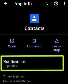 Turn on bubble notifications for app in android Q Beta 2