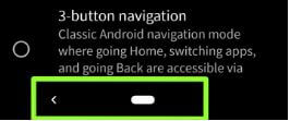 Android Q Beta 3 gesture navigation