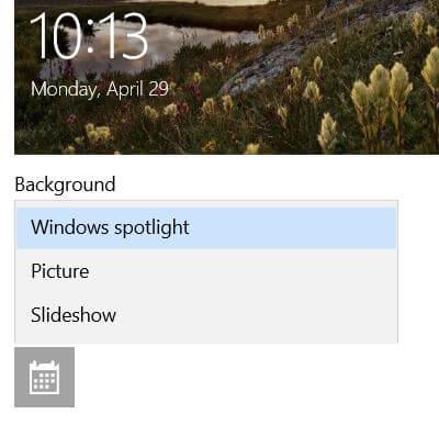 Change Windows 10 spotlight lock screen picture