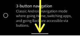 Fully gestural navigation in Android Q Beta 3