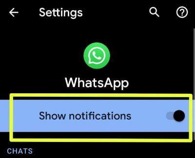 Hide message notifications in Pixel 3a XL