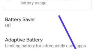 How to display battery percentage in Pixel 3a and 3a XL
