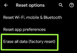 How to factory reset Pixel 3a and Pixel 3a XL
