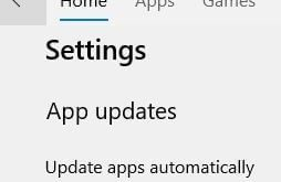 Manually update apps on Windows 10