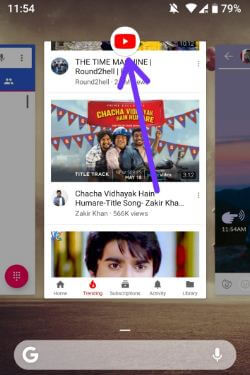 Use multi window mode in android 9 Pie
