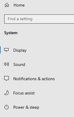 Windows 10 notifications and actions center settings