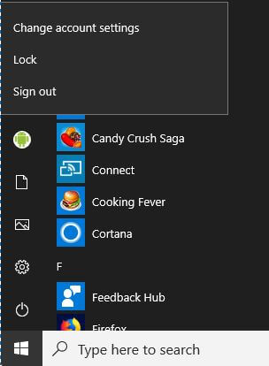 Change user account profile picture on Windows 10 login screen
