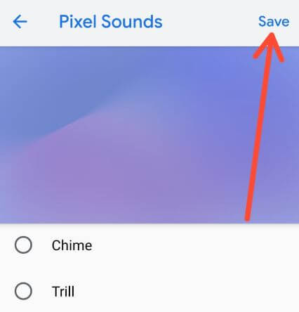 How to change Google Pixel notification sound