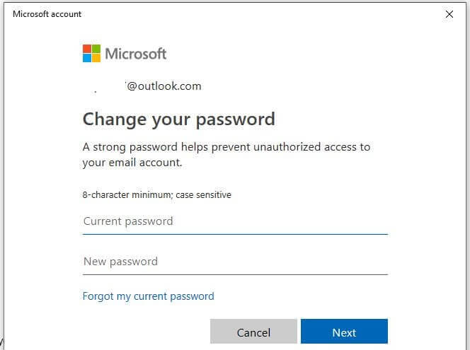 How to change administrator password in Windows 10