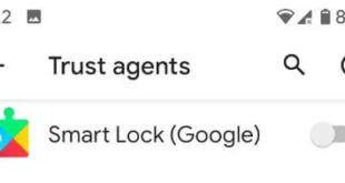 How to disable Google smart lock on Pixel 2