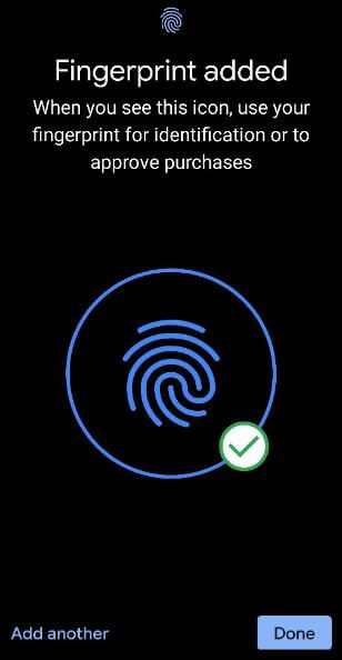 Set up fingerprint on Pixel 3a and Pixel 3a XL Smartphone