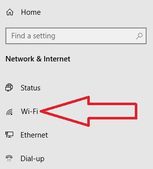Turn on WiFi in Windows 10 PC
