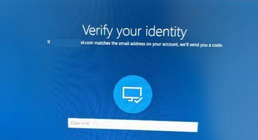 Forgot lock screen password in Windows 10 PC