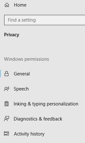 Manage your Microsoft account activity data in Windows 10 PC