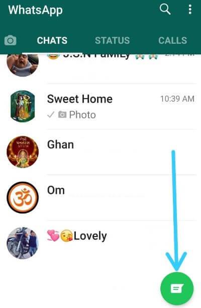 Remove WhatsApp contacts
