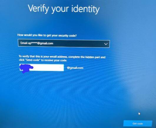 Reset Windows 10 password from lock screen