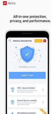 Avira Antivirus App For Android