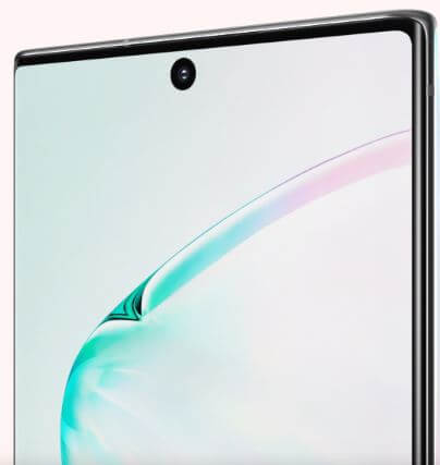 How to set screen resolution on Galaxy Note 10 Plus