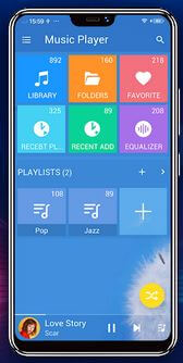 Music Player Audio Player App For Android