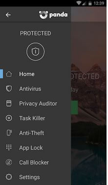 Panda security App For Android