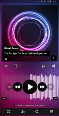 Poweramp Music Player App For Android