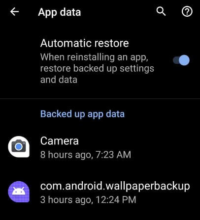 Android backup to PC