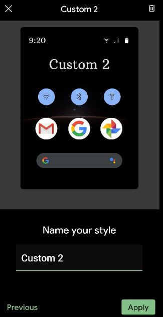 Change the Android 10 font style
