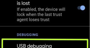 How to turn on USB debugging on Android 10