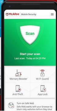 McAfee Mobile Security App For Android